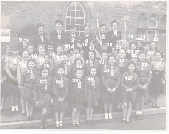Guides & Brownies1959